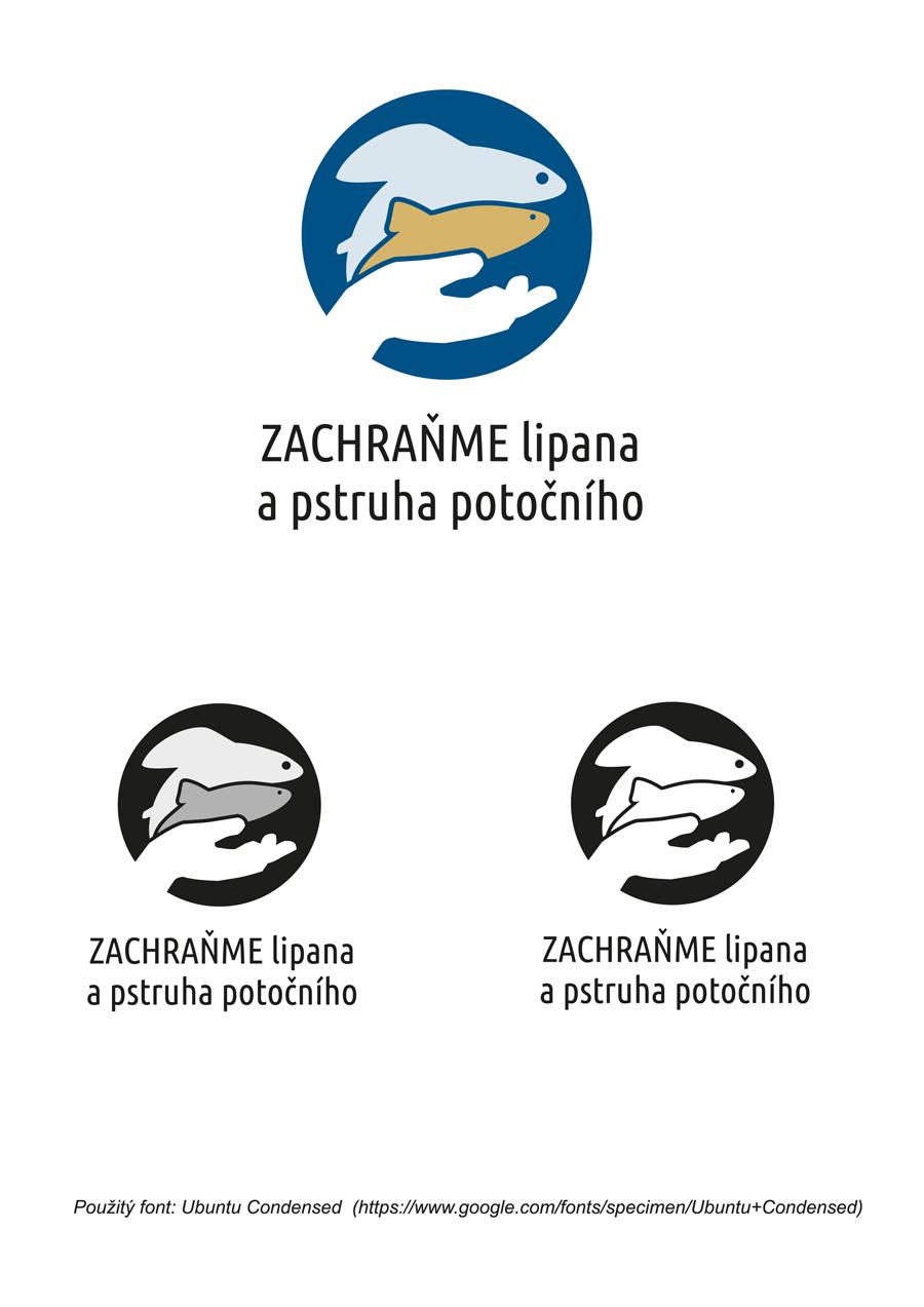 Logo bez manuálu jen s černobílou variantou
