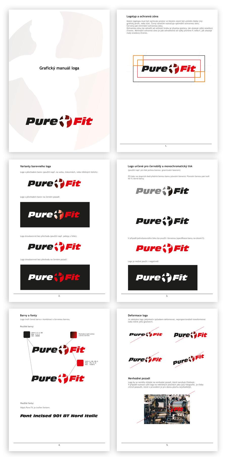 Purefit logomanual