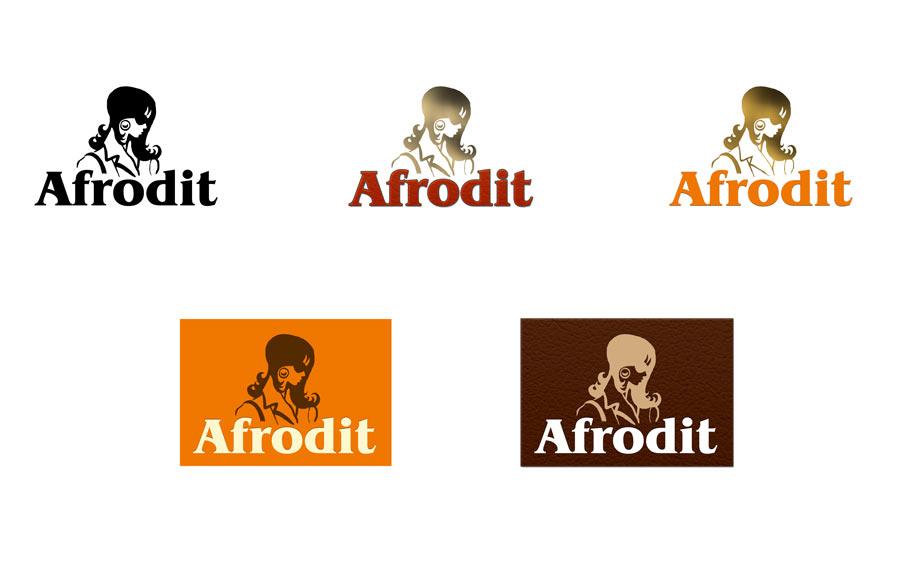 Vývoj při tvorbě loga Afrodit