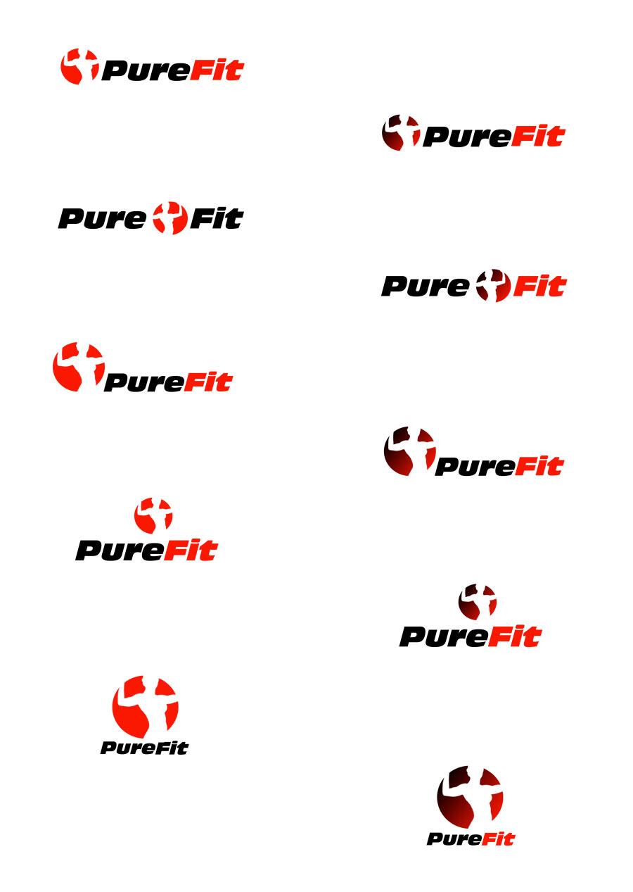 Purefit - návrhy loga