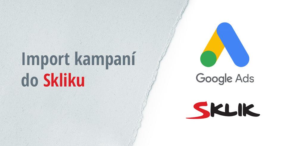 Import PPC kampaní do Skliku
