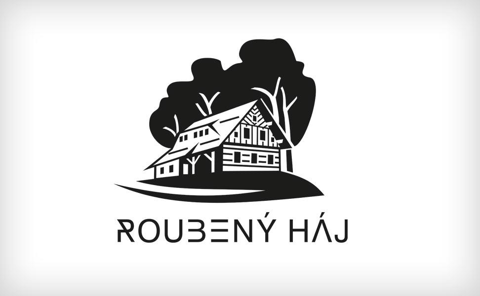 logo Roubený háj