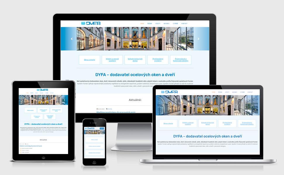 DYFA web