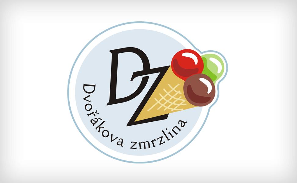 Logo Dvořákova zmrzlina