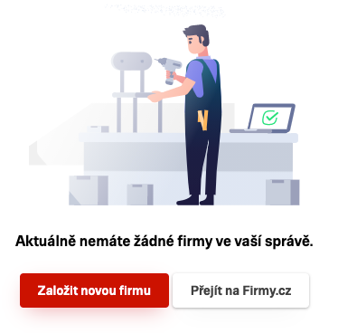 Firmy.cz - Založení