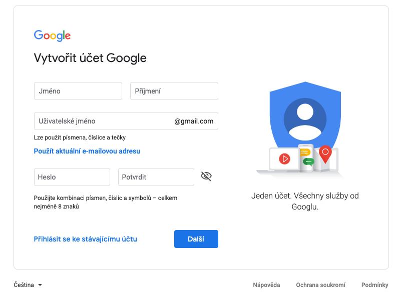 Google Ads - Vytvoření účtu