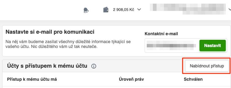 Zboží.cz - Nabídnout přístup